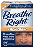 Breathe Right Advanced Nasal Strips, 26-Count