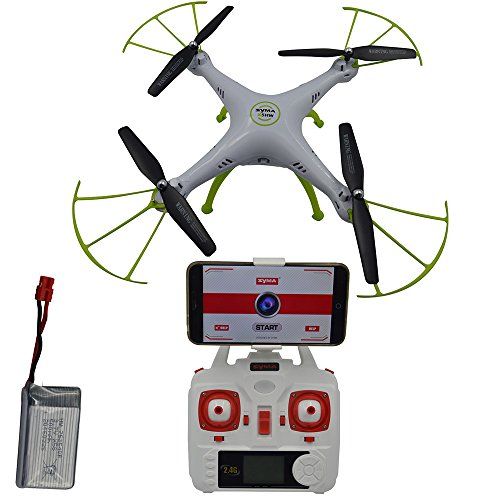 Blomiky-Syma-X5HW-Altitude-Hold-Mode-WIFI-FPV-Camera-Drone-RC-Helicopter-Quadcopter-Extra-1-Battery-X5HW-White