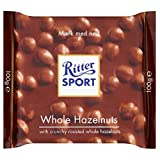 Ritter Sport Milk Chocolate Bar - Whole Hazelnuts (100g)