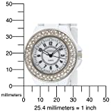 BONGO Women's BG147 White Bracelet Watch