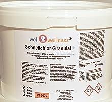 Cloro rápido Granulado granulado de cloro rápido disolución 60% + Floculante) 3,0 kg
