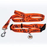IFS - Cincinnati Bengals NFL Dog Collar & Leash Set at Amazon.com