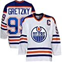 Wayne Gretzky White Reebok Heroes of Hockey Edmonton Oilers Jersey