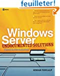 Windows Server Undocumented Solutions...