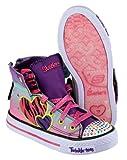Skechers SK10297 Twinkle Toes Triple Up Female Shoes Footwear Multi Brand New