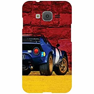 Printland Designer Back Cover for Samsung Z1 Case Cover