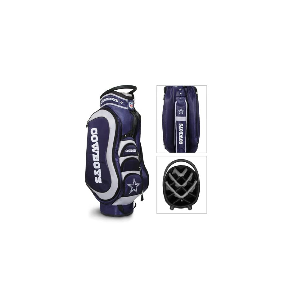 BSS   Dallas Cowboys NFL Cart Bag   14 way Medalist