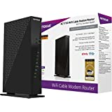 NETGEAR AC1750 (16x4) Wi-Fi Cable Modem Router (C6300) DOCSIS 3.0 Certified for Xfinity Comcast, Time Warner Cable, Cox, & more
