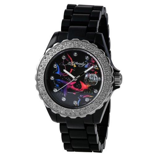 Ed Hardy Women's RX-BK Roxxy Black Watch