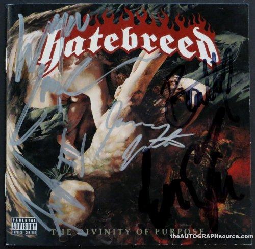 Hatebreed Autographed Cd