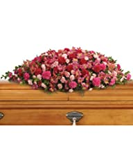 Flowers – A Life Loved Casket Spray