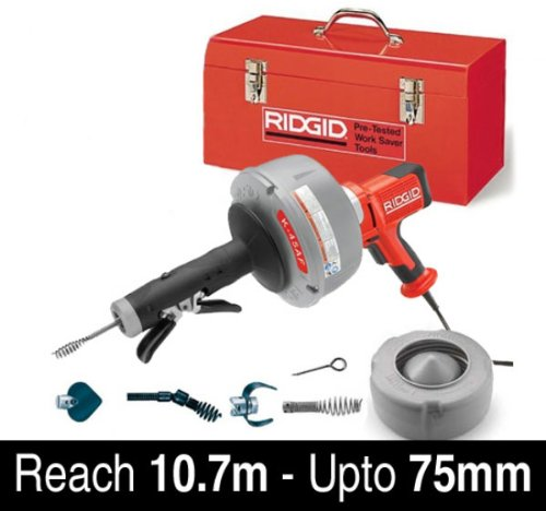 Ridgid K-45AF-5 Autofeed Drain Cleaning Machine Kit - 230v