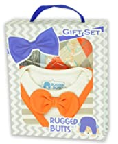 RuffleButts Kennedy Orange 2-Piece Set - 3-6m