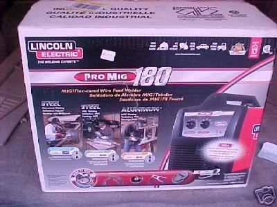 Worthy price lincoln electric pro mig 180 wire feed welder for Mig welder wire feed motor not working