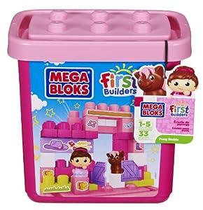 Mega Bloks First Builders Pony Stable