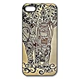 Zeimax UV Case for iPhone 5 5S - Indian Elephant