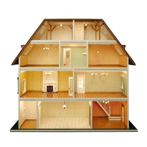 Leifheit Fenster Und Bad Starterset :  Tara zT weiß lackiert (Türen, Fenster usw) für das Puppenhaus
