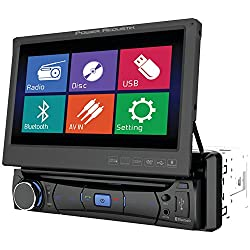 See Power Acoustik PD701B 1-DIN MOBILE 8 SOURCE UNIT with 7-Inch LCD Details
