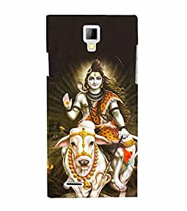 Lord Maheshvara Cute Fashion 3D Hard Polycarbonate Designer Back Case Cover for Micromax Canvas Xpress A99 :: Micromax A99 Canvas Xpress
