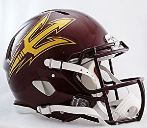 NCAA Riddell Arizona State Sun Devils Maroon Speed Full-Size Authentic Helmet by Riddell