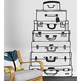 Ferm Living Suitcases Wall Sticker