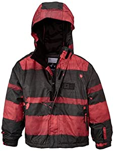 Rip Curl Answer Boys' Snow Jacket green Garden Green Size:FR : 14 ans (Taille Fabricant : 14)
