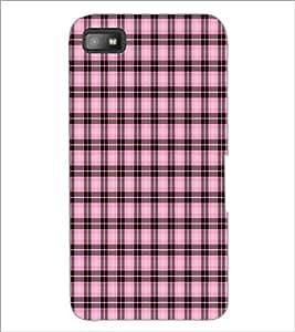 PrintDhaba Pattern D-6081 Back Case Cover for BLACKBERRY Z10 (Multi-Coloured)
