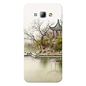 Mobile Back Cover For Samsung Galaxy A8 (Printed Designer Case)
