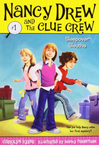 Sleepover Sleuths (Nancy Drew and the Clue Crew #1) (Nancy Drew Book 1 compare prices)