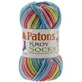 Spinrite Kroy Socks Yarn, Meadow Stripes