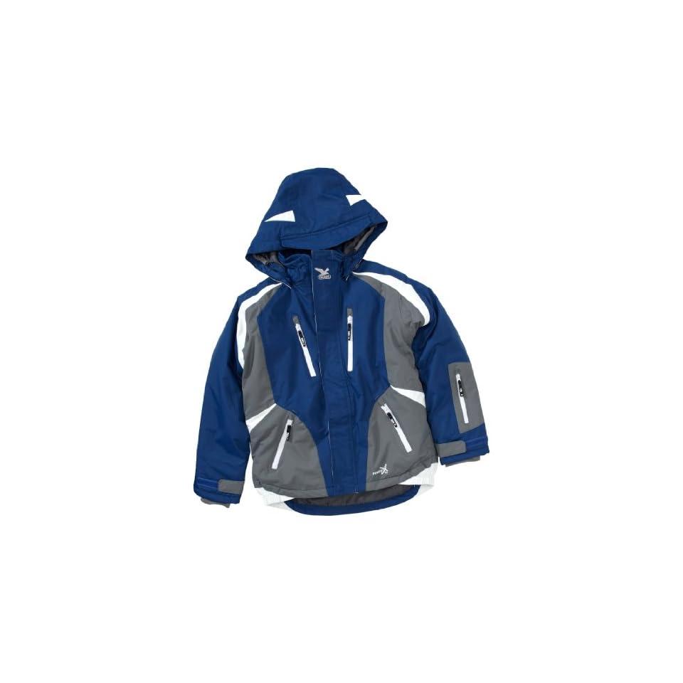SALEWA Kinder Powertex Jacke PRESTON, sea blue, 128, 00