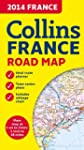 2014 Collins Map of France (Road Map)