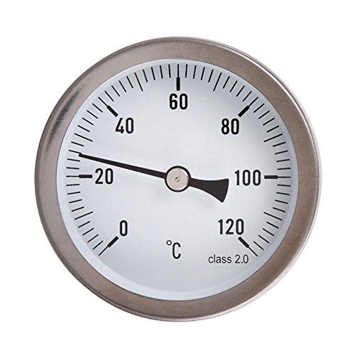 Awakingdemi 63mm Horizontal Dial Thermometer Temperature Gau