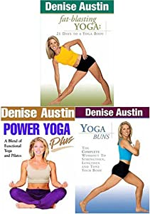 Amazon.com: Denise Austin - Fat-Blasting Yoga / Power Yoga Plus / Yoga