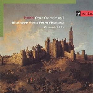 Haendel : Concertos pour orgue, Op.7