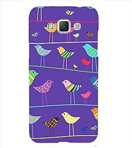 Sparrow pattern Back Case Cover for Samsung Galaxy Grand Neo Plus::Samsung Galaxy Grand Neo Plus i9060i