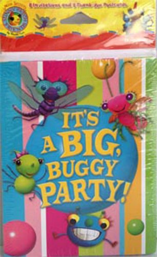 Miss Spider Sunny Patch Friends Invitations (8ct) - 1
