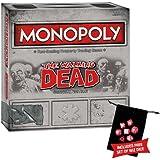 The Walking Dead Monopoly w/Free Set of Wiz Dice