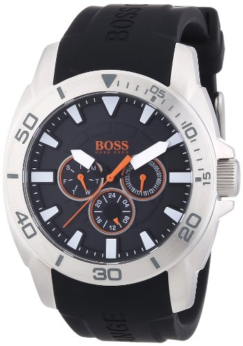 Boss Orange Men's Watch XL Analogue Display and Big Day Multieye 1512950 Silicone