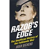 Razor's Edge: The Unofficial History of the Falklands Warby Hugh Bicheno
