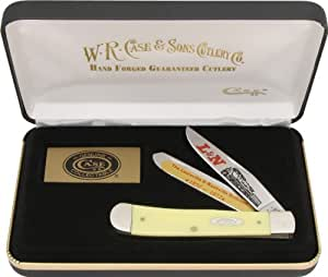 Case Cutlery CALNY Louisville & Nashville Railroad Limited Edition Commemorative Hunting Knives