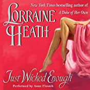 Just Wicked Enough: Rogues and Roses, Book 2 | Lorraine Heath