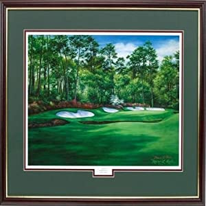 Golf Gifts and Gallery Augusta 13 Framed Art (24 X 30) by Golf Gifts & Gallery