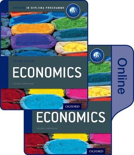 IB Economics Print and Online Course Book Pack (Ib Myp)