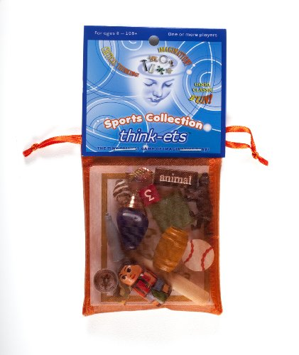 Think-ets Tiny Trinket Imagination Game (Sports Collection)