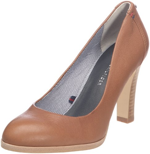 Tommy Hilfiger Women's Miranda 3 Tan Mules Fw56813673 6 UK