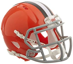 NFL Cleveland Browns Revolution Speed Mini Helmet by Riddell