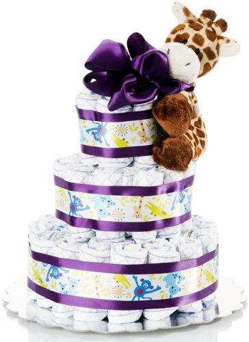 Basket Affair - Too Sweet to Eat Diaper Cake Gift Set
