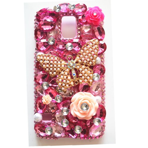 Learn More About EVTECH(TM) 3D Handmade Rhinestone Series Butterfly Crystal Diamond Design Case Clea...