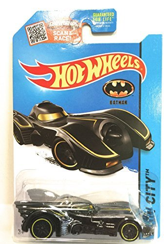 Hot Wheels, 2015 HW City, Batmobile [Batman 1989 Movie] #62/250 - 1